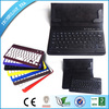 2014 high quality tablet bluetooth keyboard with colorful folding bluetooth keyboard PU leather case+ABS keyboard