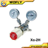 dual stage wall mounted carbon dioxide gas regulator price with check valve