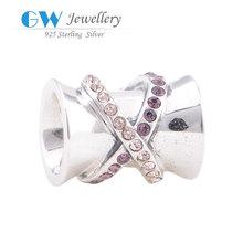 DIY European style Bracelet 925 sterling silver jewelry charm distributors
