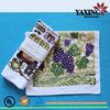 42*60cm custom print colorful terry cloth kitchen tea towel