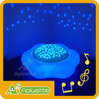 Star Projector - Five Selectable Melodies and Color changing Ceiling Projection Portable LED Night Light