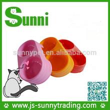 Jiangsu manufacturer plastic dog pet bowls(PP material)