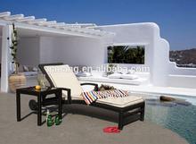 sun loungers with wheel ,fashion design
