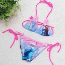 2014 hot hot sex kids girl beachwear swimwear child swimwear