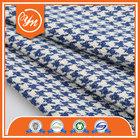 Best seller Oeko-Tex W/P Fashion houndstooth fabric supplier