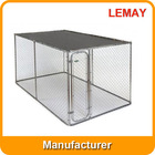 Cheap 7.5x13x6ft outdoor breeding house galvanized dog cage