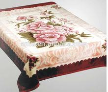 baby soft thick fleece blanket/alpaca wool blanket/super soft korean quality blanket