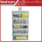 NAHAM Fabric Wall Hanging Bag Jewelry Organizer