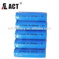 Lithium Iron Disulfide battery li-fes2 LF-AA LFB14505 1.5V AA battery
