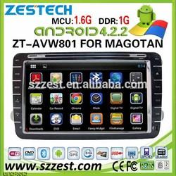 ZESTECH 2 din android car pc for volkswagen car dvd gps navigation