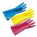 latex gants de ménage en caoutchouc