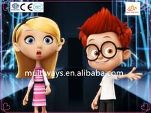 Movie stars plastic figurines/Cute model action figure/custom design movie star figure