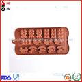 Mignon forme moules en silicone pour le chocolat