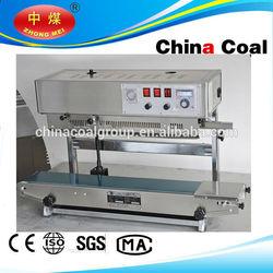 Vertical continuous band sealer machine,automatic plastic bag sealer