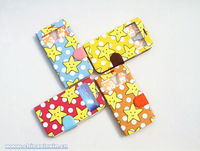 Popular Custom logo mobile phone leather case for samsung galaxy S4