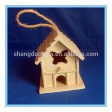 2014 New design handmade cheap outdoor wooden bird house