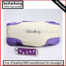 massage belt vibration slender v shaper belt with PU leather material