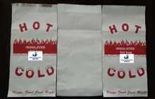 hot chicken foil bag,fried chicken bag,foil paper bag