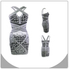 2014 fashionable celebrity short elegant celebrity dress