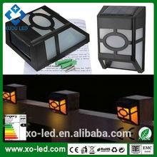 High performance IP44 Cool White led outdoor Light control Wall Light/Solar Gutter Led Light/Solar lamp