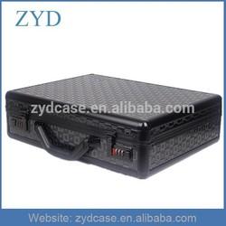 Professional Wholesale China Black Aluminum Hard Cover Laptop Case ZYD-HZMlc002