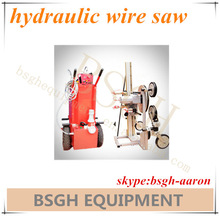 BS-80AM portable diamond wire saw,rock cutting wire saw machine,hydraulic wire cutting machine