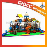 2015 Outdoor Playground,School Playground Equipment,Plastic Playground for kids