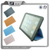 folio handheld pu leather case for iPad mini with voice gather