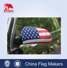 display car mirror cover, custom nfl flags car side mirror socks