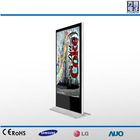 55'' advertising stand display ,digital ad media player TFT LG screen Android Network