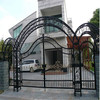 hot sell decorative garden arch wrought iron gate with low price