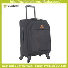 single wheels black Contracted stripe vantage luggage bag 2015