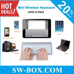 Wholesale Mini Bluetooth Wireless Keyboard for iPad Mini iPad2 3 4 5 Samsung Galaxy Tab 2 3