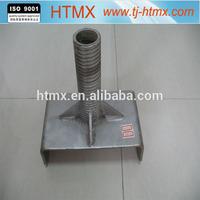 high quality adjustable Q235 construction scaffolding U head screw jack for sale