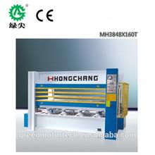 energy saving Door skin hot press machine/ MDF door skins/Veneer laminating hot press machine