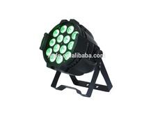 RGBWA 5in1 18X15W Waterproof LED par can disco light