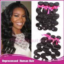 Hot sale unprocessed wholesale virgin cheap Brazilian hair weaving
