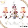 lighting fixture in flower decoration fabric lighting chandelier
