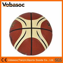 Shiny PU LAMINATED Basketball/PU basketball