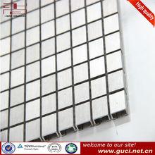 chinese backsplash decorative aluminum metal mosaic tile