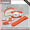 Vibration OEM slimming massager with 3pcs extended belt