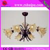 best price 2013 light yellow flower good quality chandelier