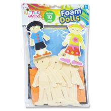 Cute EVA craft foam dolls