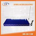 высокое качество voip гр 32 шлюз канала, goip шлюз бестселлером по всему миру с бесплатная регистрация