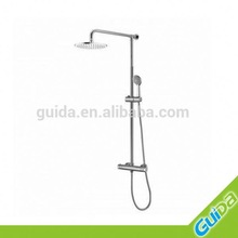 brass chrome plate sliding bar/ bathroom accessories