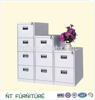 metal office furniture modern 2,3,4 drawers locker cabinet furniture dimensions