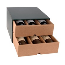 beautiful ecofriendly wine glass cardboard gift box best price wholesale