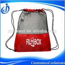 Hot Sale Cheap Promotional Custom Nylon Mesh Drawstring Bag