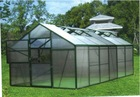 EGR70304 Aluminum Alloy Frame Family Used Green House,Agriculture Garden Greenhouse