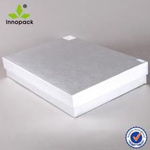Cap Top Metallic Boxes Apparel Boxes Wholesale